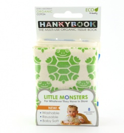 HankyBook Little Monsters Single - Turtle